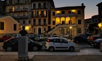 Rudi Jahn: Korfu August 2019  Korfu Stadt bei Nacht