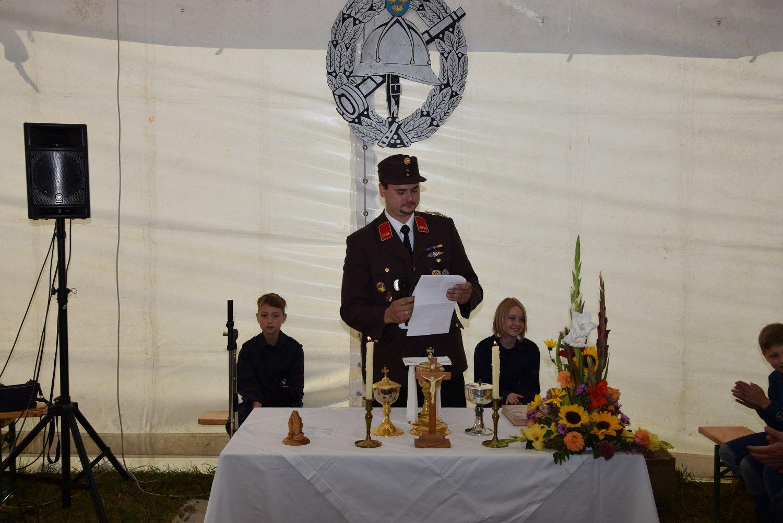 Rudi Jahn: Festmesse anl 100 Jahre FF Groß Meinharts