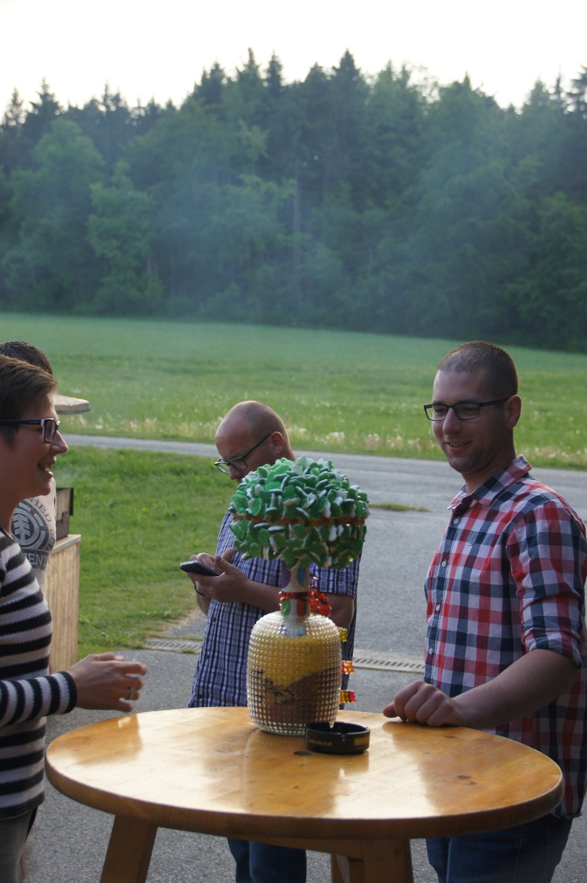 Martin Gutenthaler: Gemeinsame 30er Feier Stefan Faltin und Stefan Haderer