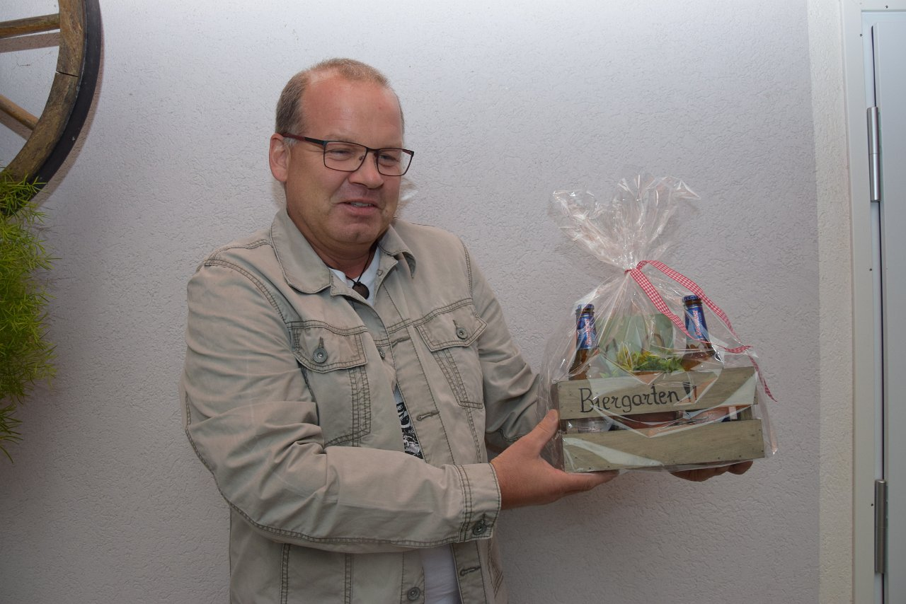 R.Jahn: 40. Geburtstag Martin Faltin 20.08.2018