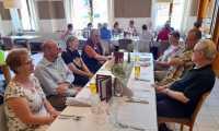 Peter Haas: Gemeinsames Abendessen am Vortag mit Pfarrgemeinderat