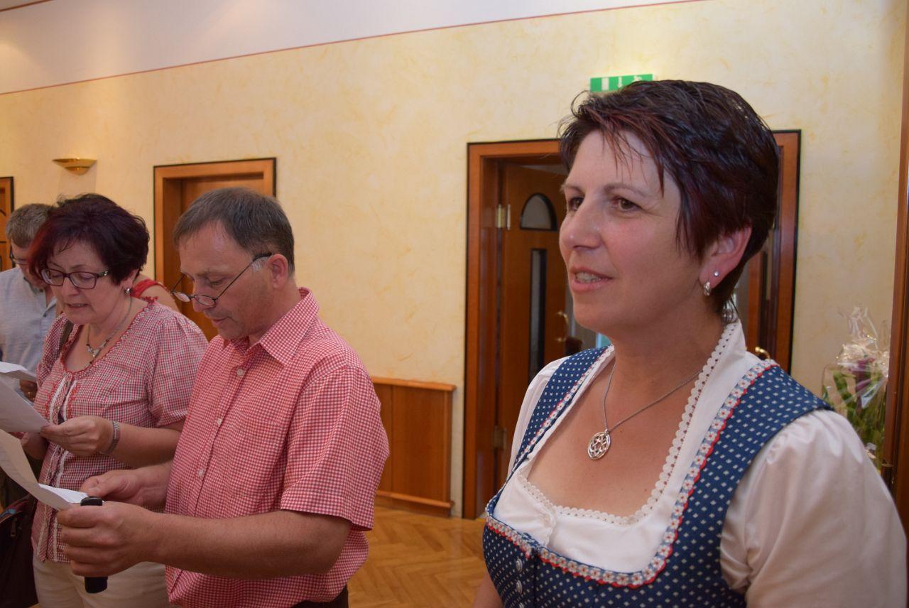 Rudi Jahn:  50. Geburtstag Haderer Maria 24.06.2017