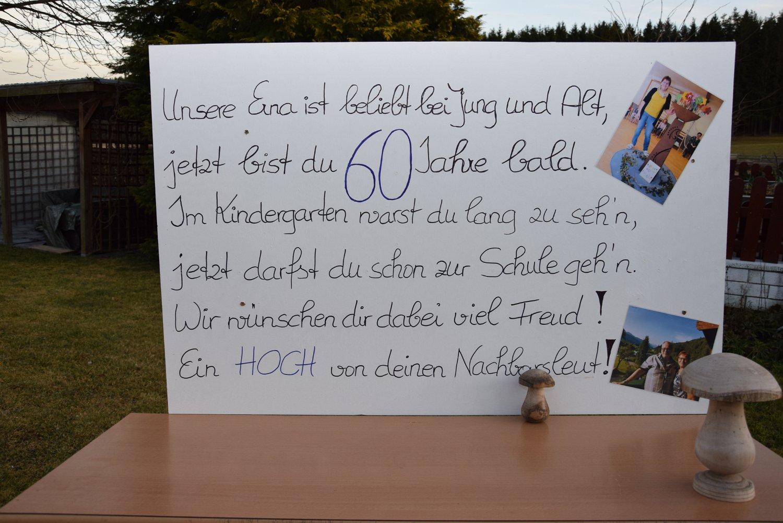Rudi Jahn: 60er Feier Erna Jahn 02.02.2020