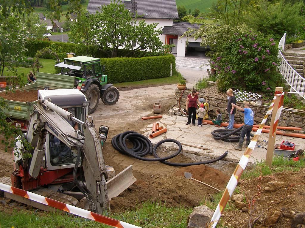 Baustelle Hahn Etzen