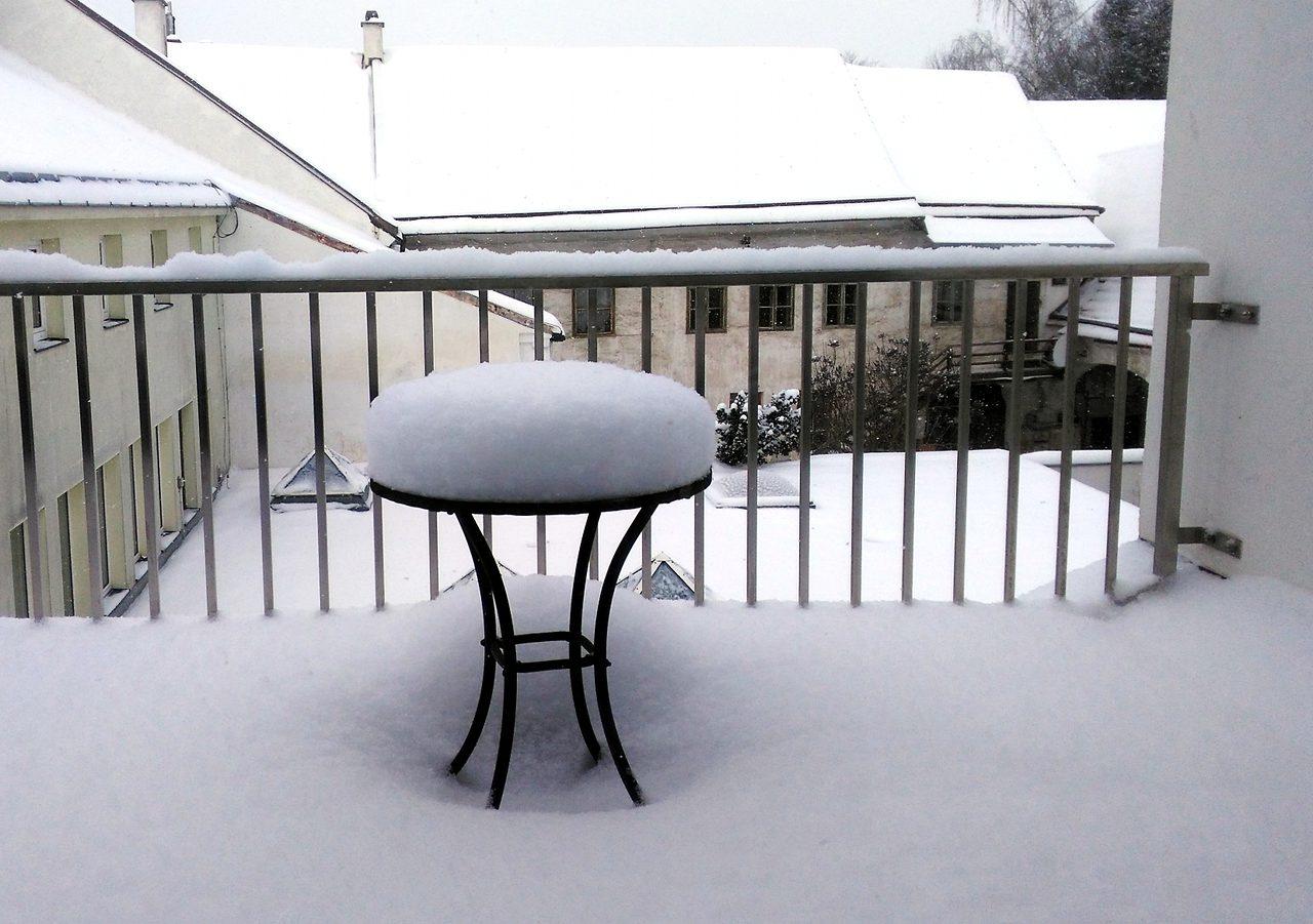 Rudi Jahn: Schnee am 2. März 2018
