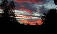 Sonnenuntergang Haselberg