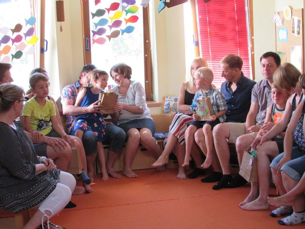 Abschlussfest im Kindergarten Etzen 14.06.2019