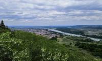 Michael Raffelseder: Blick von der Donauwarte Krems-Stein 24.05.2020
