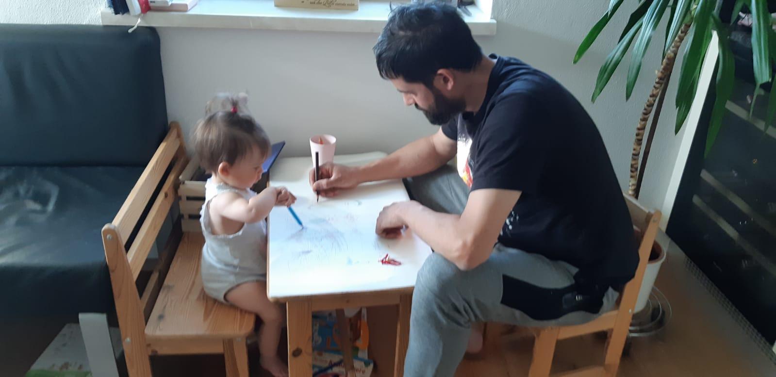 Vogl Christoph: Homeschooling mit Töchterchen Marie