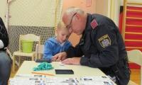 Die Polizei im Kindergarten Etzen 15.05.2019