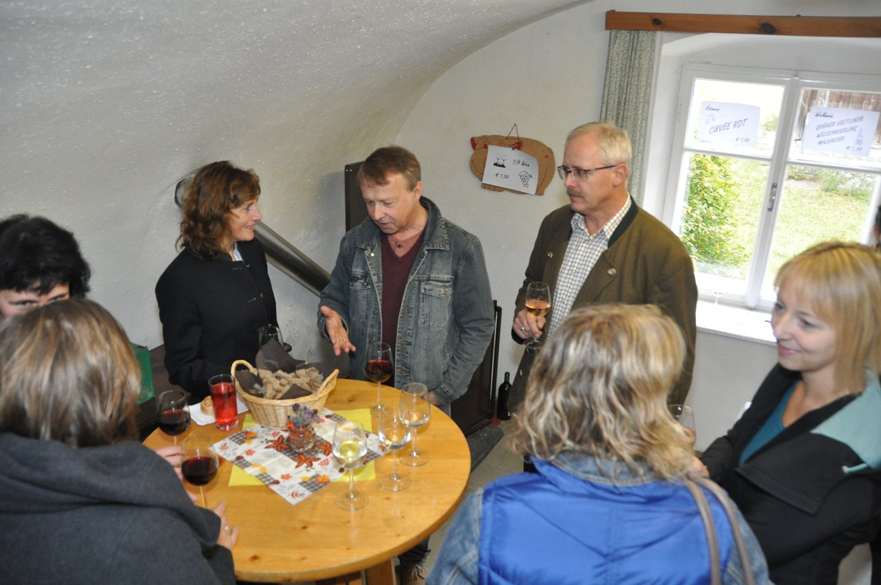 Franz Kitzler: Pfarrheuriger 8.10.2017