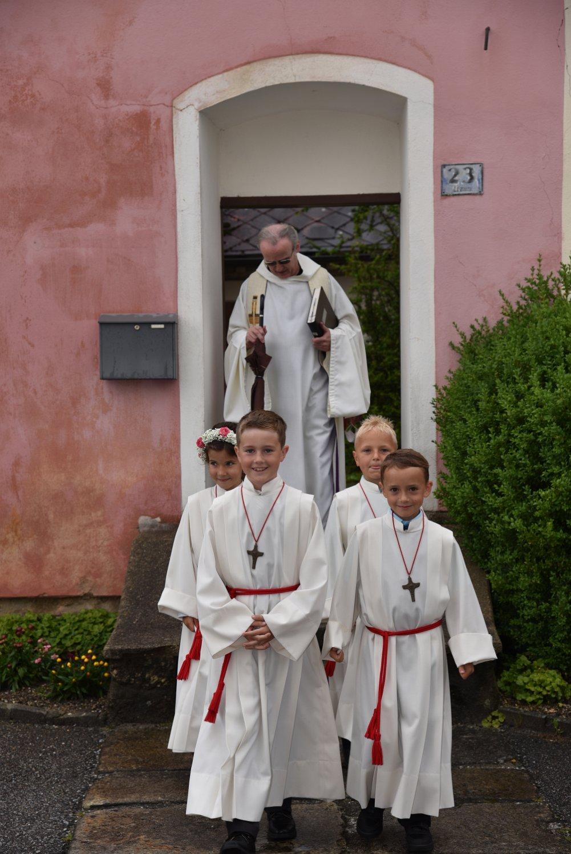 Franz Kitzler: Erstkommunion Gattringer, Hahn, Laister, Zlabinger 18.07.2021