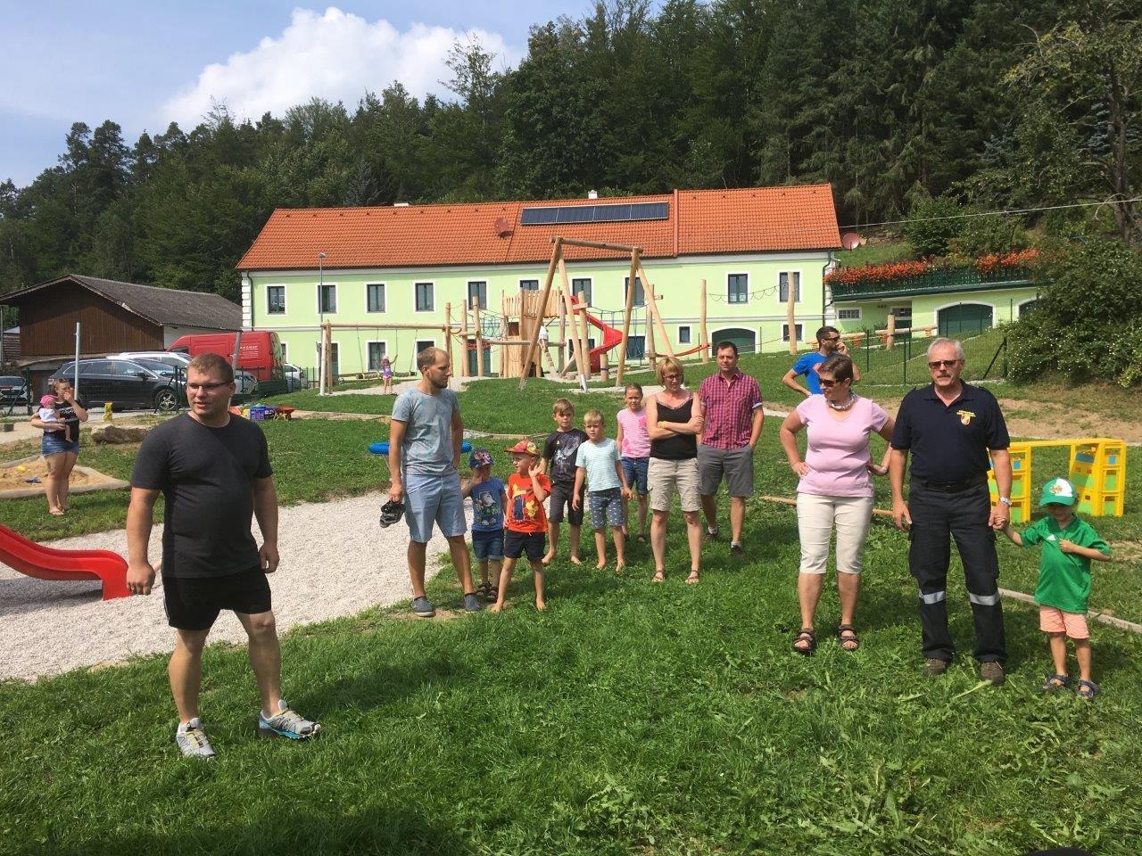 Robert Liebenauer: Ferienspiel 24.08.2019 in Etzen