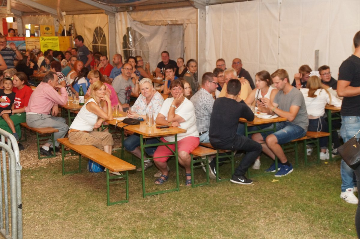 Ernst Grünstäudl: Fest FF Groß Meinharts 20.07.2019