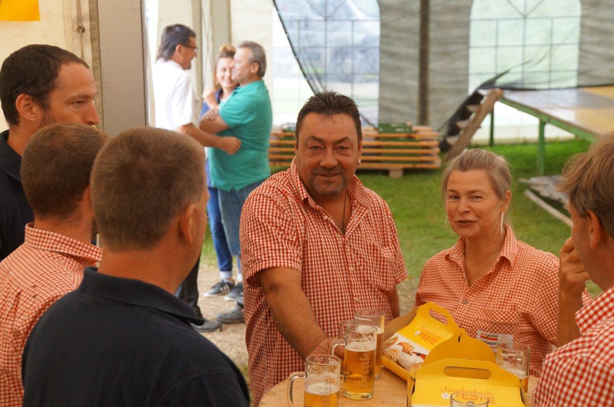 Ernst Grünstäudl: Fest FF Groß Meinharts 21.07.2019