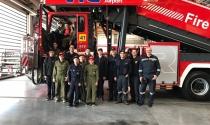 Grünstäudl/Prock: Feuerwehrjungend-Ausflug 7.10.2017