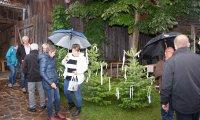Rudi Jahn: Bäume setzen Hochzeit Lukas Grötzl 16.07.2020