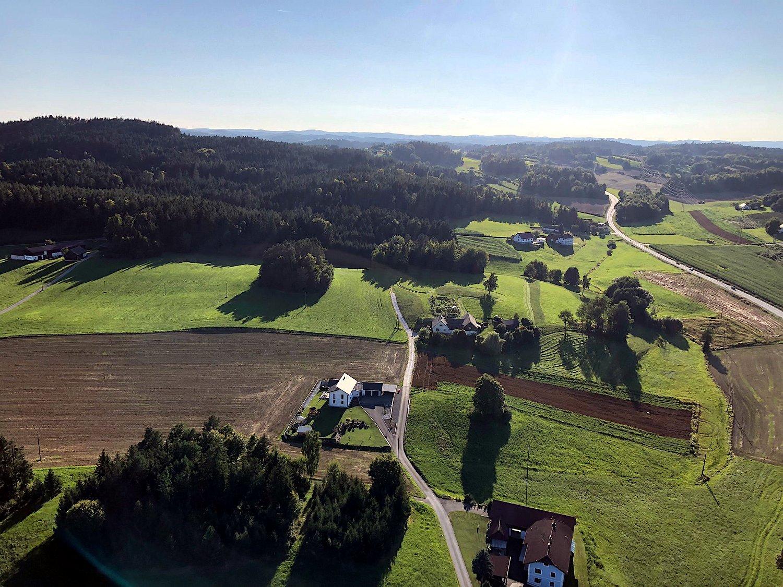 Ballonfahrt Magdalena Faltin 03.09.2021: Hopfgartner, Haderer, Hofegger