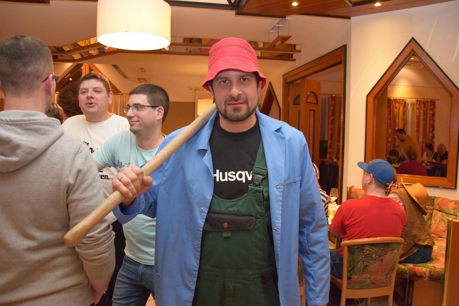 Rudi Jahn: Knödeltanz 24.02.2020 Gasthaus Mathe