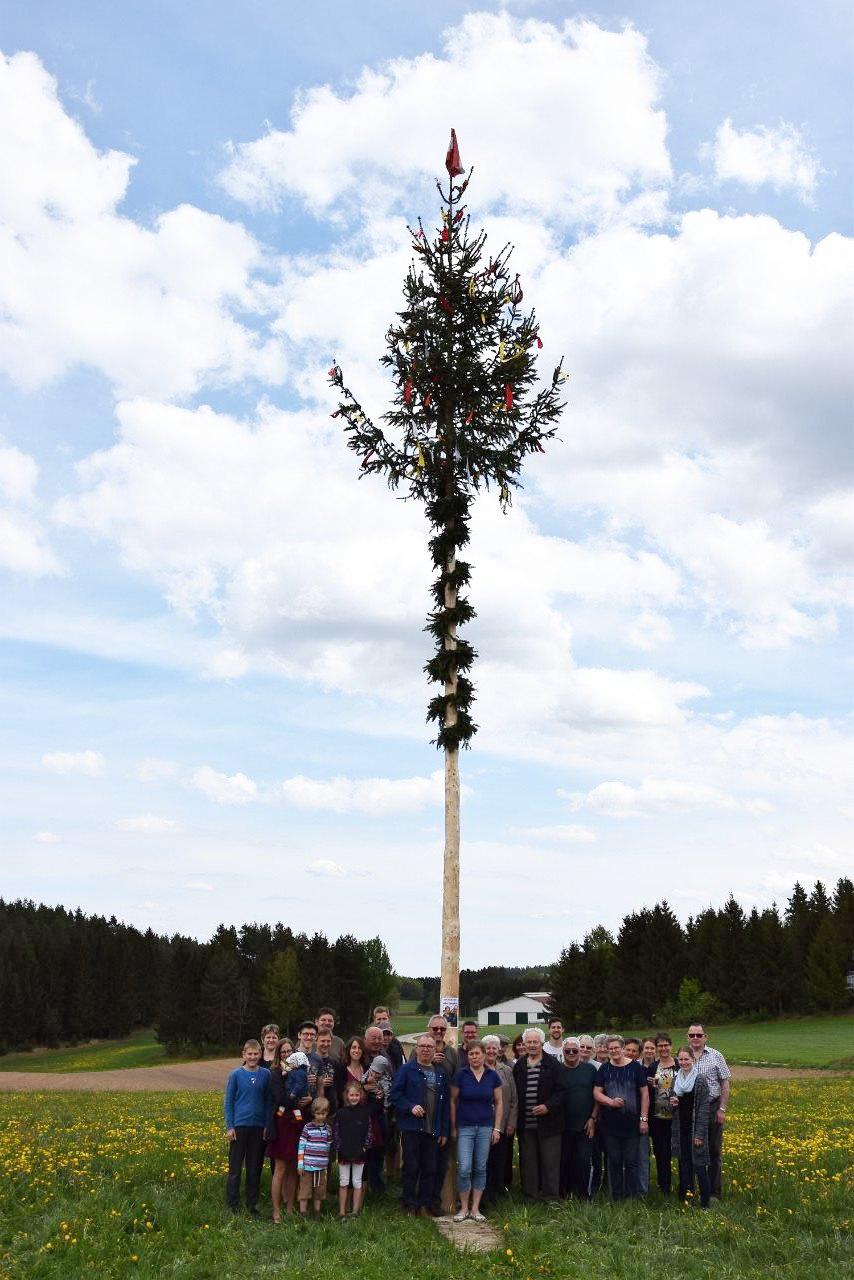 R.Jahn: Maibaum Josefsdorf 2018