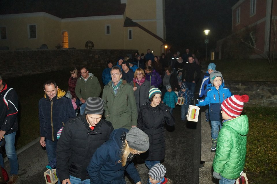 Ernst Grünstäudl: Martinsfest Pfarre 10.11.2018