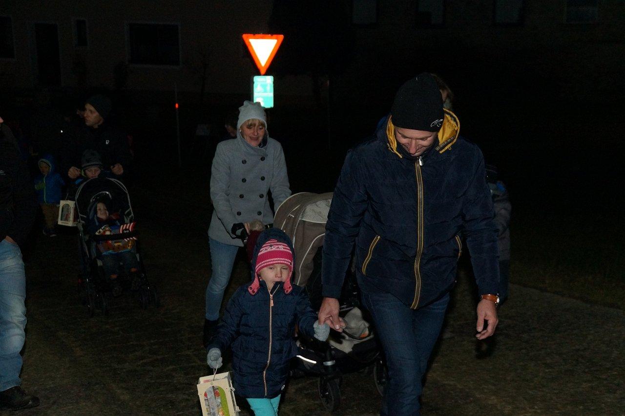 Ernst Grünstäudl: Martinsandacht der Pfarre 10.11.2017