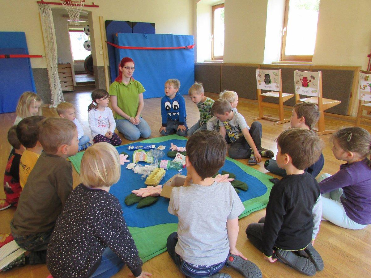 Müllworkshop im Kindergarten Etzen am 14.05.2019