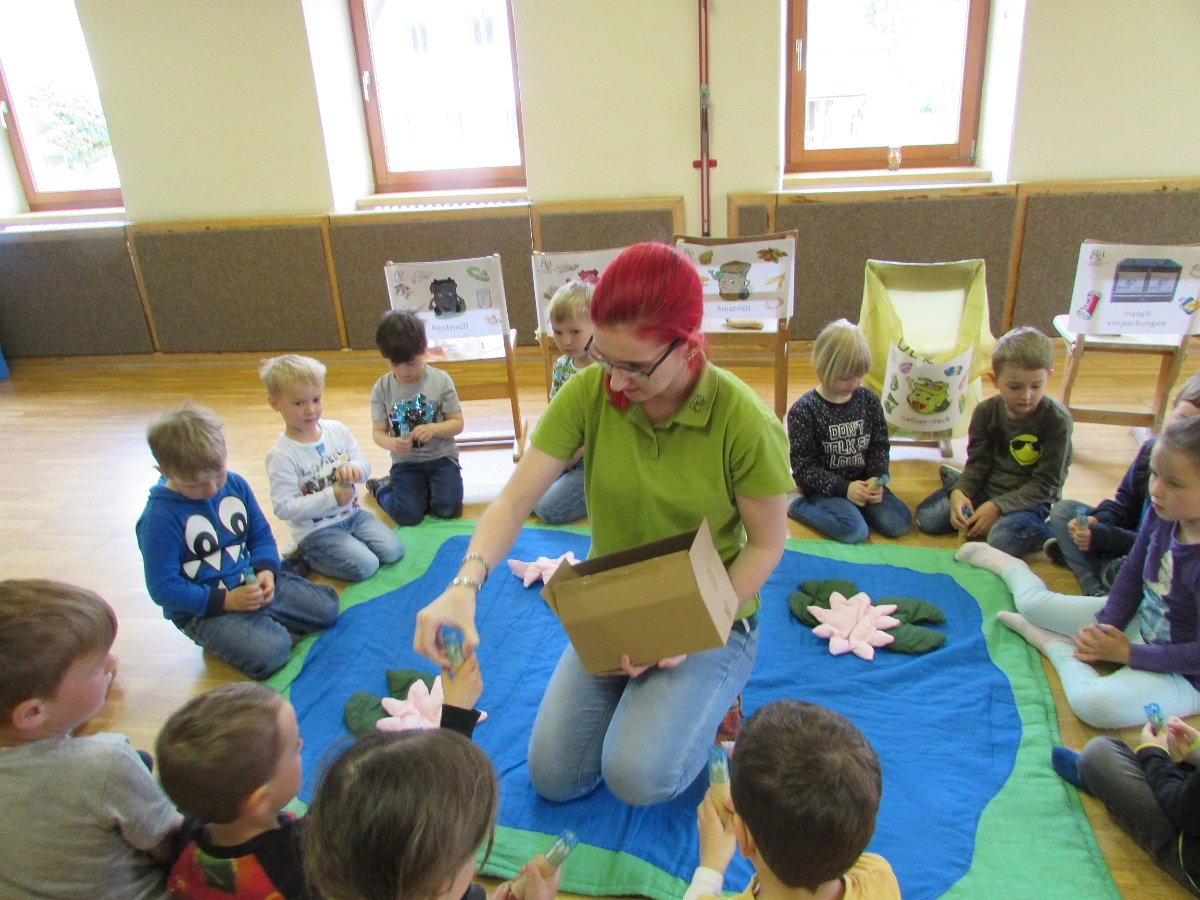 Müllworkshop im Kindergarten Etzen am 14.05.2019