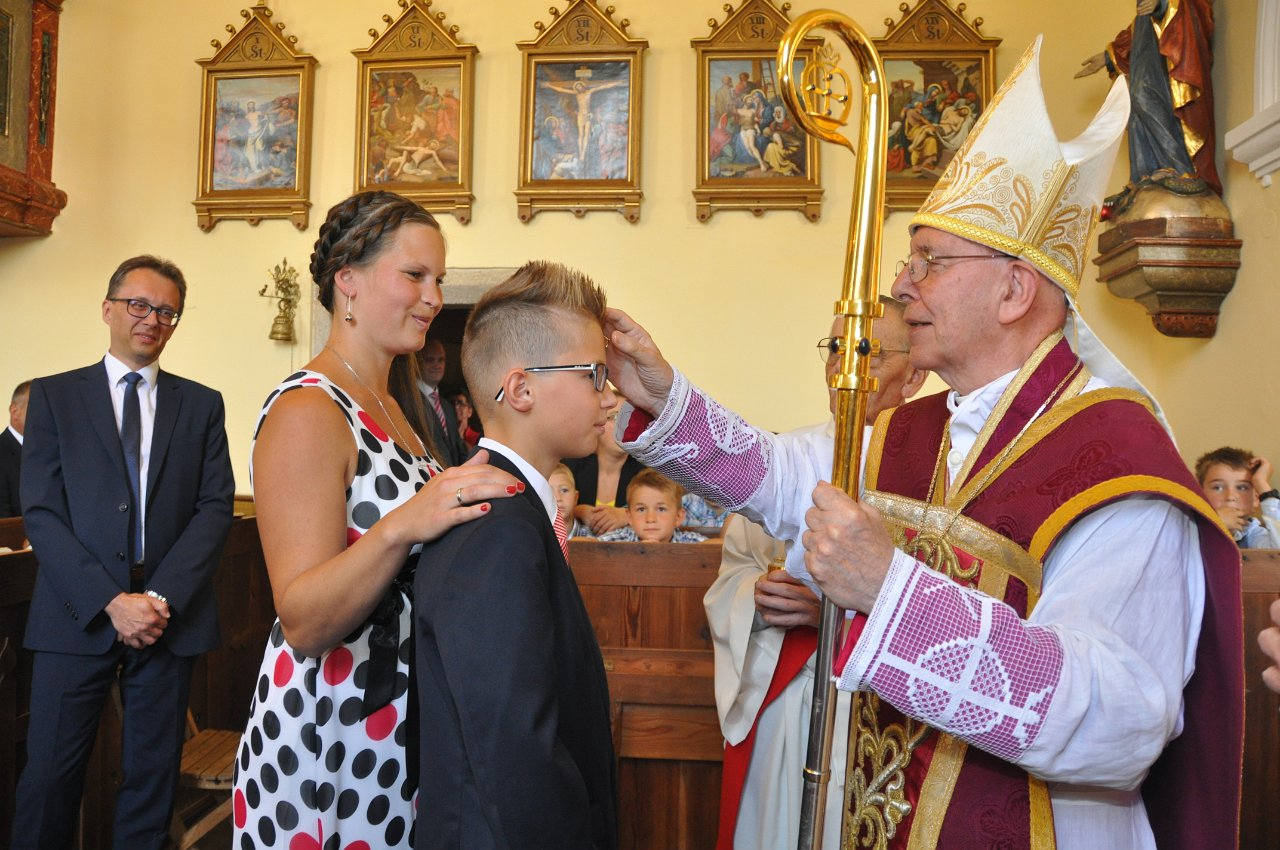Franz Kitzler: Pfarrfirmung  mit Bischof Küng 17. Juni 2018