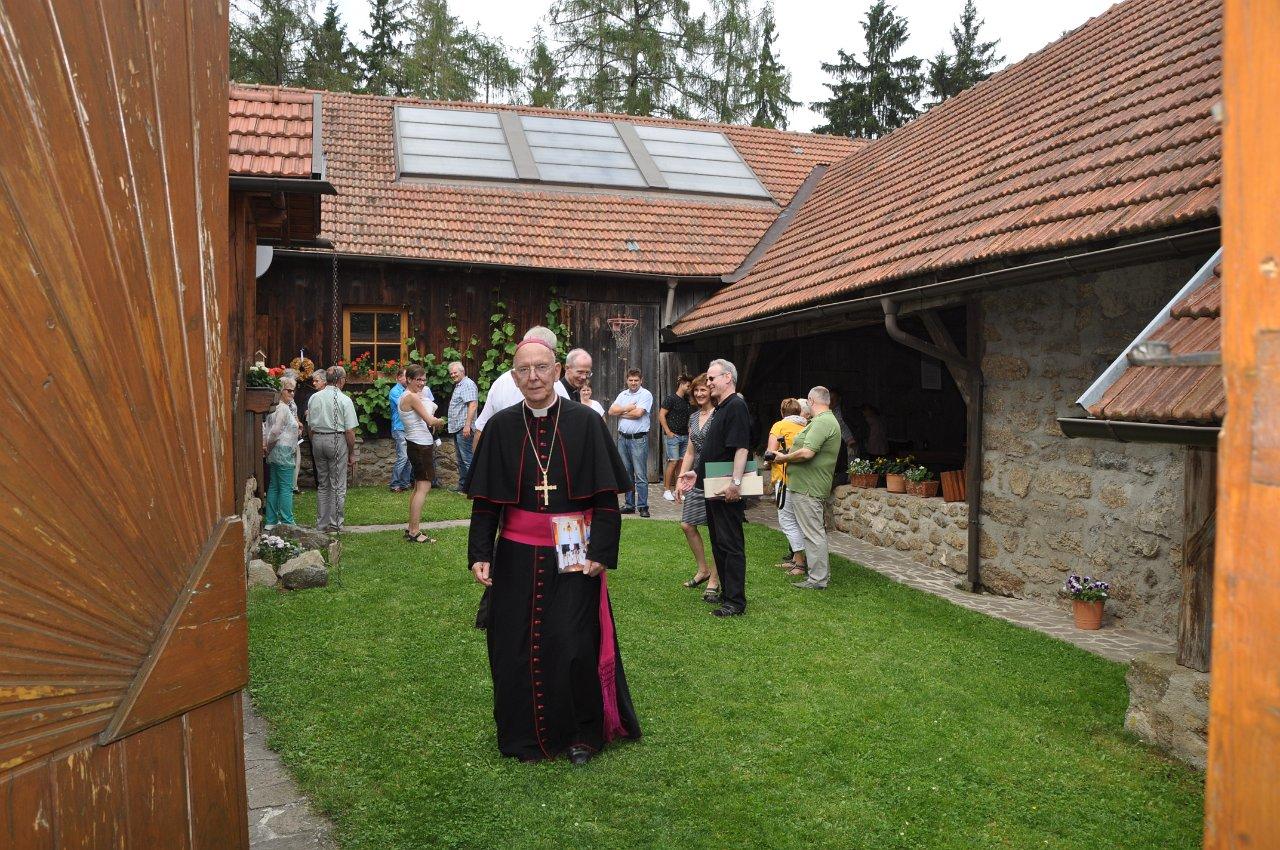 Franz Kitzler: Pfarrvisitation 17.06.2018 Hauskapelle Grötzl Josefsdorf