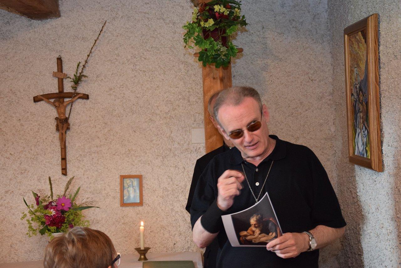 R. Jahn: Pfarrvisitation 17.06.2018 Hauskapelle Grötzl Josefsdorf
