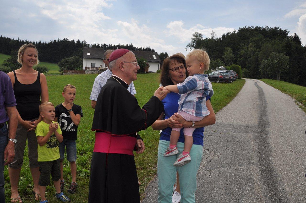 Franz Kitzler: Pfarrvisitation 17.06.2018 Kapelle Ober Neustift