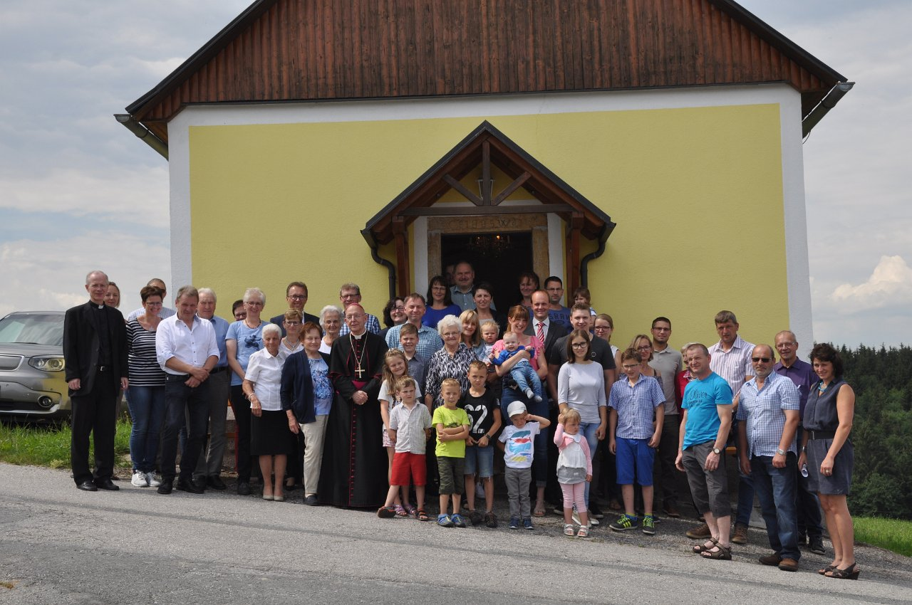Franz Kitzler: Pfarrvisitation 17.06.2018 Kapelle Ober Neustift