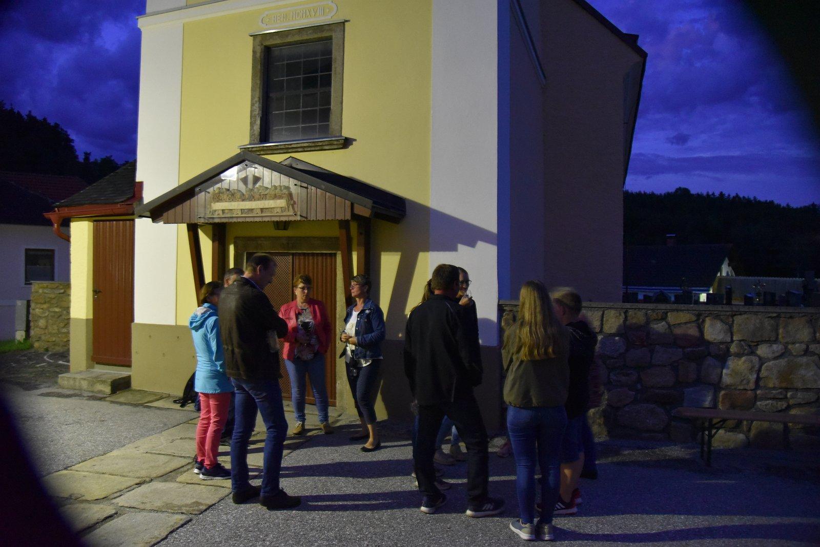 Franz Kitzler: Schaufeitaandacht  ORW/Blumau 1.07.2020 in der Pfarrkirche