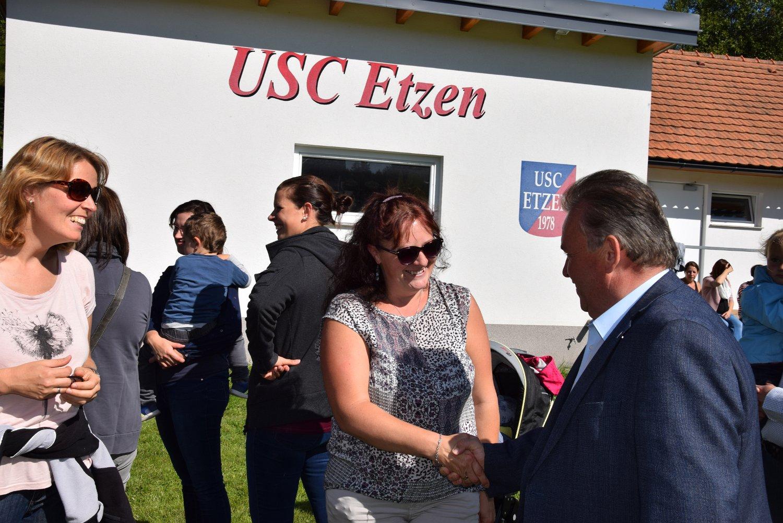 Rudi Jahn:Rudi Jahn: Spielplatzeröffnung Etzen 21.09.2019
