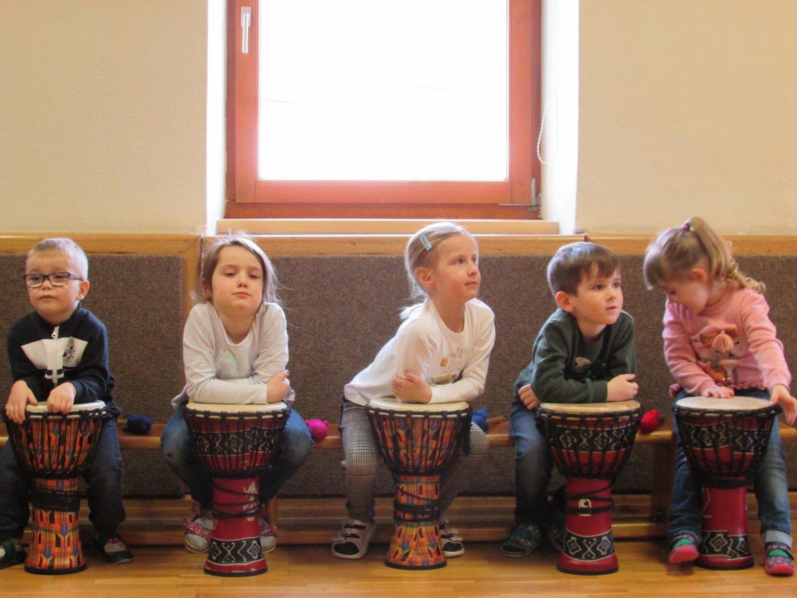 Kindergarten Etzen: Trommelworkshop 12. u. 13. Februar 2020