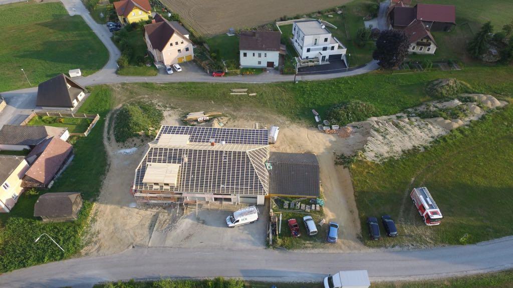 FF Etzen: Umbau Feuerwehrhaus Etzen 18.08.2018