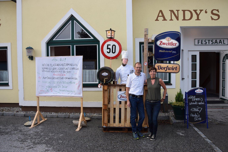 Rudi Jahn: 50. Geburtstag Mathe Andreas 24.06.2019
