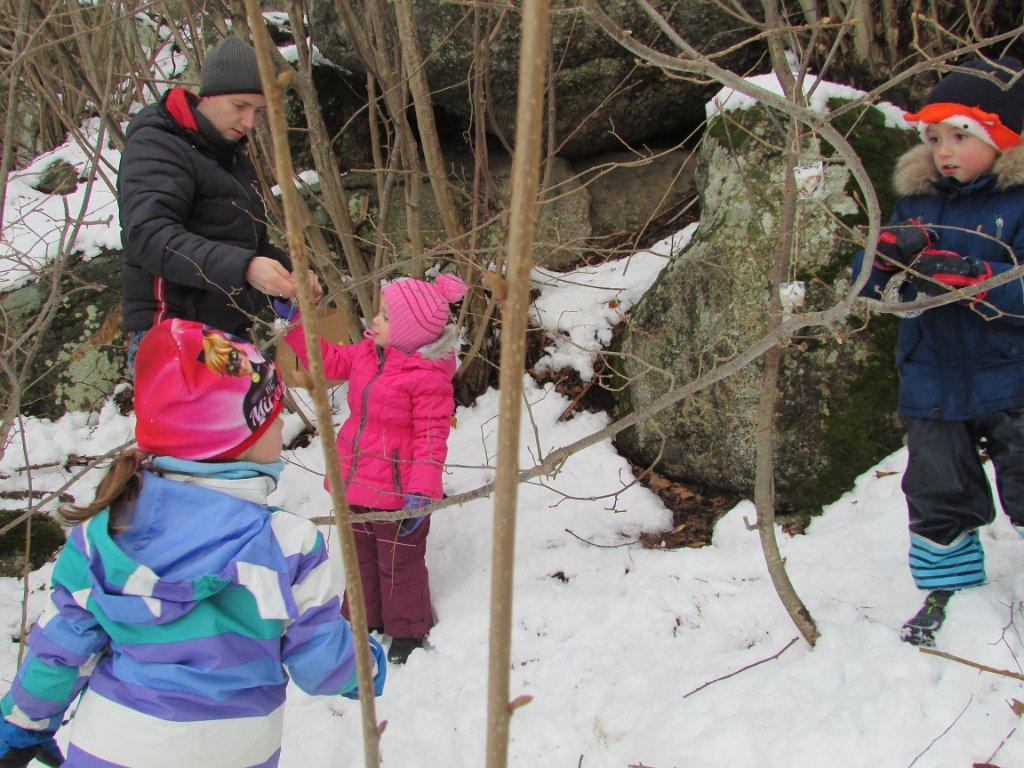 Waldweihnacht Kindergarten Etzen 21.12.2018