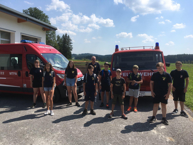 Robert Liebenauer: Wandertag Feuerwehrjugend 10.08.2020