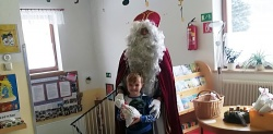 Der Nikolaus kommt ...