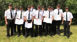 Verdienstvolle Feuerwehrkameraden