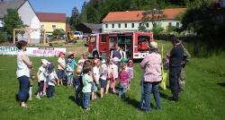 """Feuerwehr""""einsatz"""" im Kindergarten"""
