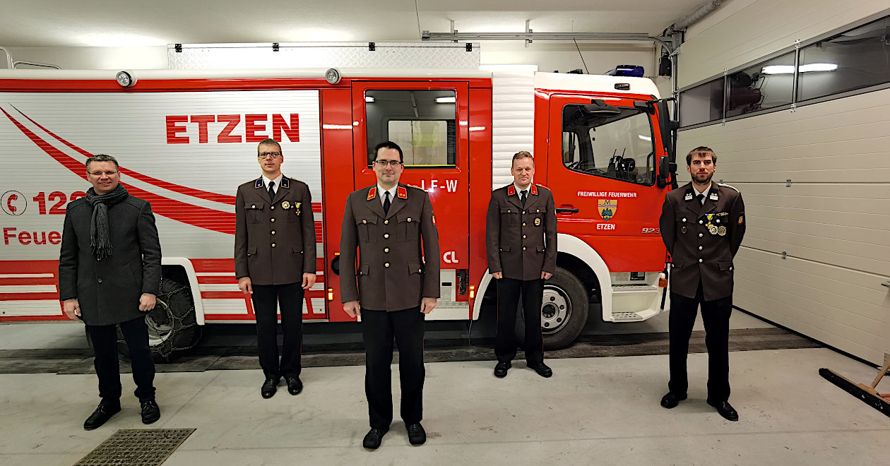 Feuerwehrwahlen im Unterabschnitt Etzen